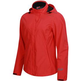 Protective P-Rain II Jacket Women, fiery coral